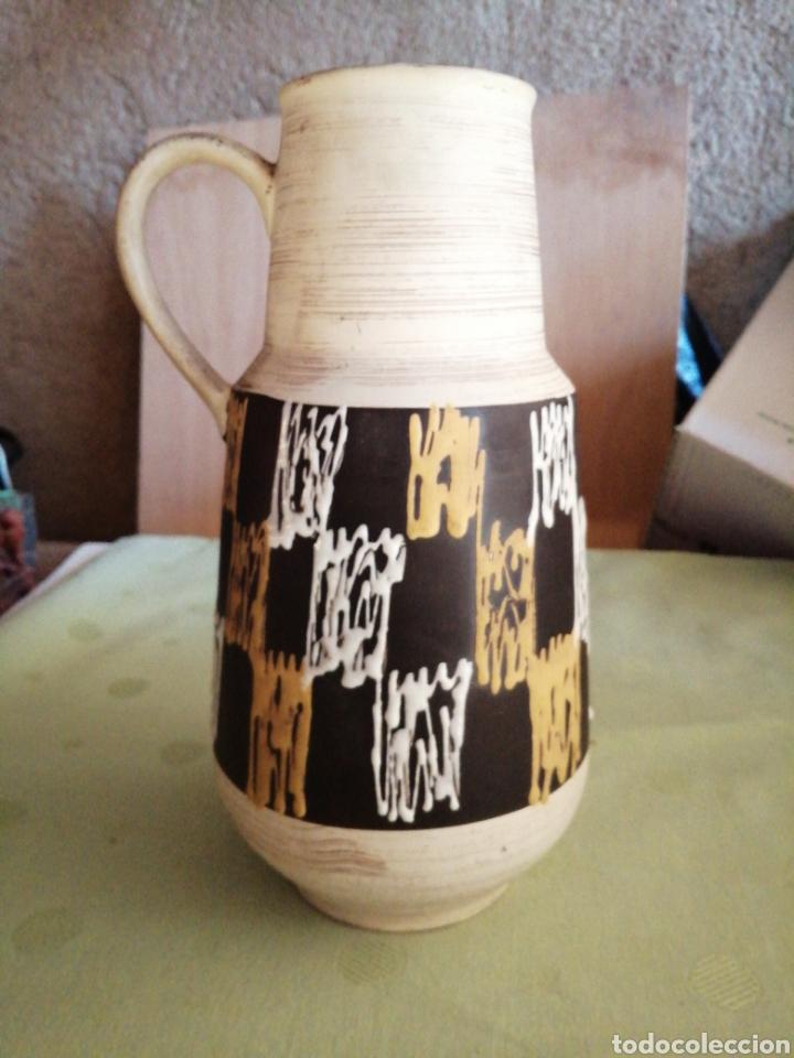 JARRA GRANDE DE CERAMICA (Antigüedades - Porcelana y Cerámica - Alemana - Meissen)