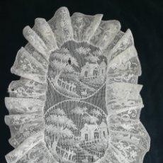 Antigüedades: ANTIGUO TAPETE ENCAJE. Lote 234544105