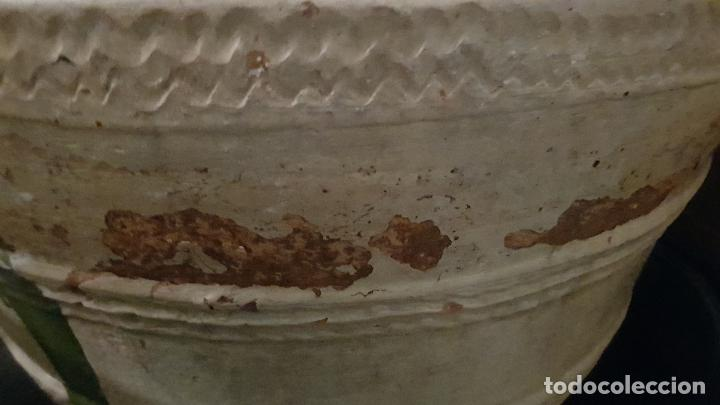 Antigüedades: TINAJA DE ACEITE 42X75 CM ALGUN DESPERFECTO - Foto 3 - 234565835