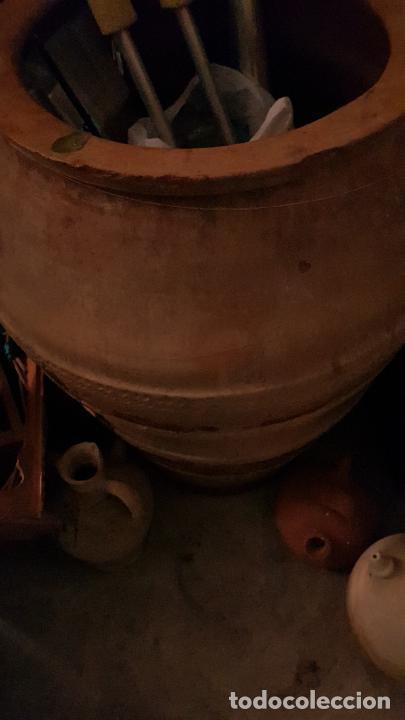 TINAJA DE ACEITE 42X75 CM ALGUN DESPERFECTO (Antigüedades - Porcelanas y Cerámicas - Alcora)
