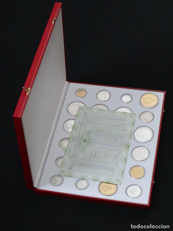 Antigüedades: Emisión de 24 monedas de plata que forman la historia de la peseta. - Foto 4 - 234585015