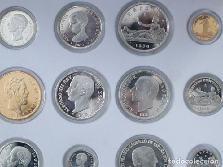 Antigüedades: Emisión de 24 monedas de plata que forman la historia de la peseta. - Foto 9 - 234585015