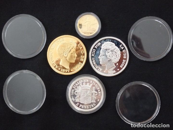 Antigüedades: Emisión de 24 monedas de plata que forman la historia de la peseta. - Foto 18 - 234585015