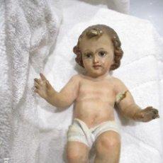 Antigüedades: NIÑO JESUS DE 20 CTMS OLOT ESTADO COMO SE APRECIA EN LAS FOTOS. Lote 234604485