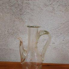 Antiquités: ACEITERA CRISTAL SOPLADO. Lote 234644775