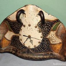 Antigüedades: RELOJ DE CERAMICA CATALANA DE LA GALERA ( TARRAGONA ). Lote 234649005