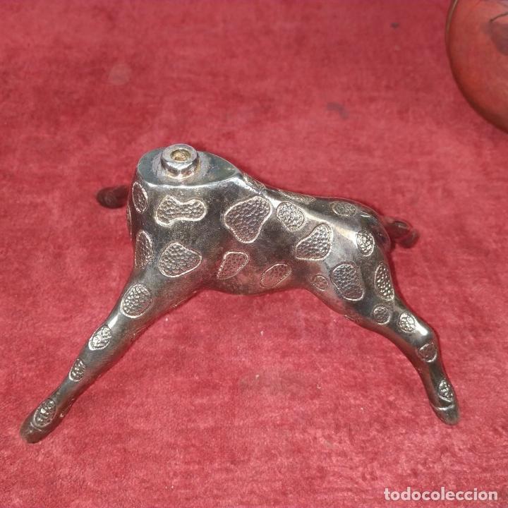 Antigüedades: BANDEJA DE APERITIVOS APILABLES. METAL CHAPADO EN PLATA. ESTILO VALENTÍ ESPAÑA. S. XX - Foto 10 - 234702625