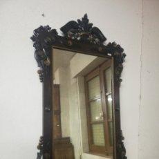 Antigüedades: ESPEJO ANTIGUO RESTAURADO. Lote 234717905