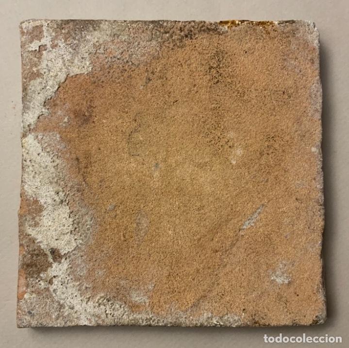 Antigüedades: RARO AZULEJO DELFT (s.XVII) - Foto 5 - 234747600