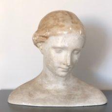 Antigüedades: BUSTO CLÁSICO DE MUJER CIRCA 1.900-1.910. Lote 234754475