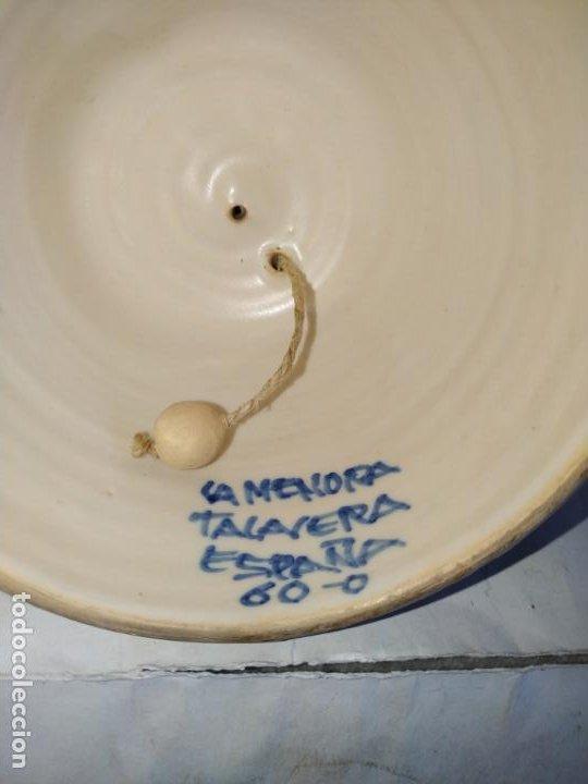 Antigüedades: 2 campanas ceramica Talavera ( Toledo ) de la Menora . Una de ellas en forma de mujer con mandil. - Foto 6 - 234761265