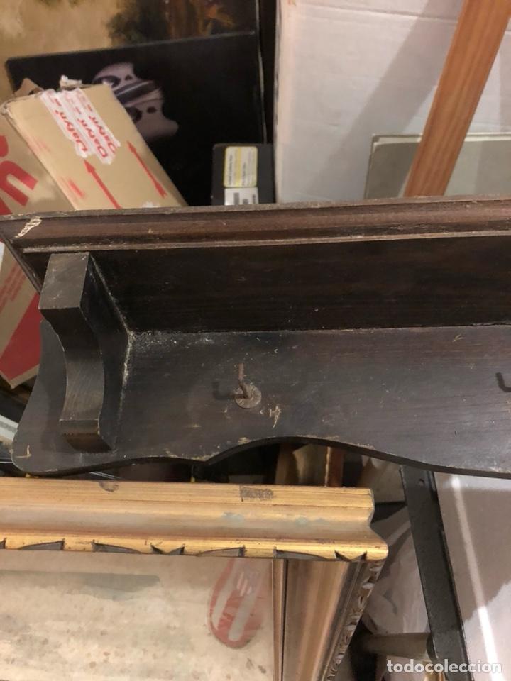 Antigüedades: Bonito frente de cocina, madera y los cazos de bronce, sellados - Foto 2 - 234772015