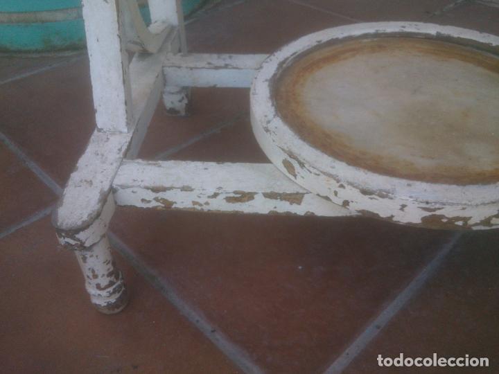 Antigüedades: ANTIGUO MUEBLE LAVABO CON ESPEJO AÑOS;50S - Foto 18 - 234777995