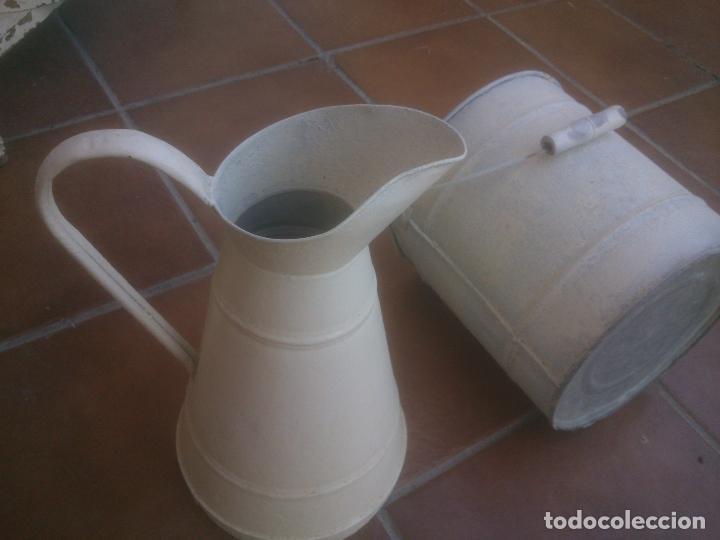 Antigüedades: ANTIGUO MUEBLE LAVABO CON ESPEJO AÑOS;50S - Foto 30 - 234777995
