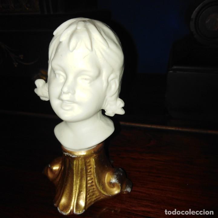 Antigüedades: Antigua figura de porcelana de biscuit de Capodimonte - Foto 3 - 234786245