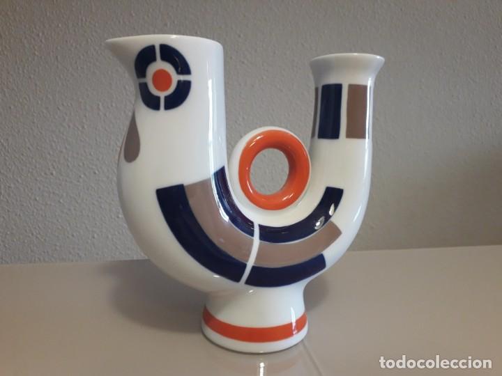 Antigüedades: Figura porcelana sargadelos galicia - Foto 2 - 234787940