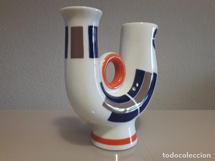 Antigüedades: Figura porcelana sargadelos galicia - Foto 3 - 234787940