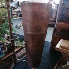 Antigüedades: COPA DE METAL GRANDE. Lote 234800110