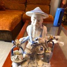 Antiguidades: FIGURA CHINA PORCELANA ANTIGUA. VER FOTOS. Lote 234825080