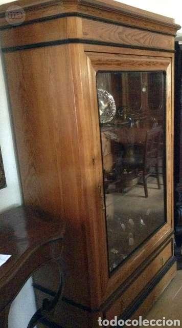 Antigüedades: Vitrina de madera - Foto 3 - 234825755