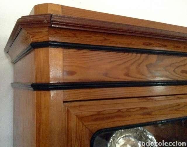 Antigüedades: Vitrina de madera - Foto 4 - 234825755