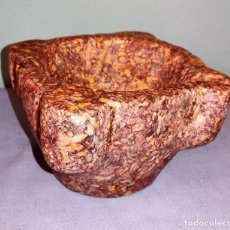 Antigüedades: ANTIGUO MORTERO ALMIREZ DE MARMOL DE LA CINTA TORTOSA TARRAGONA S. XVIII EN EXCELENTE ESTADO. Lote 234904980