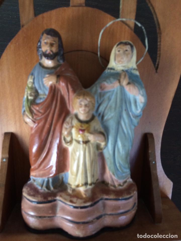 Antigüedades: Sagrada familia de barro - Foto 7 - 234906835