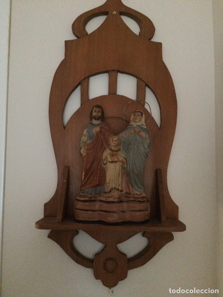 Antigüedades: Sagrada familia de barro - Foto 9 - 234906835