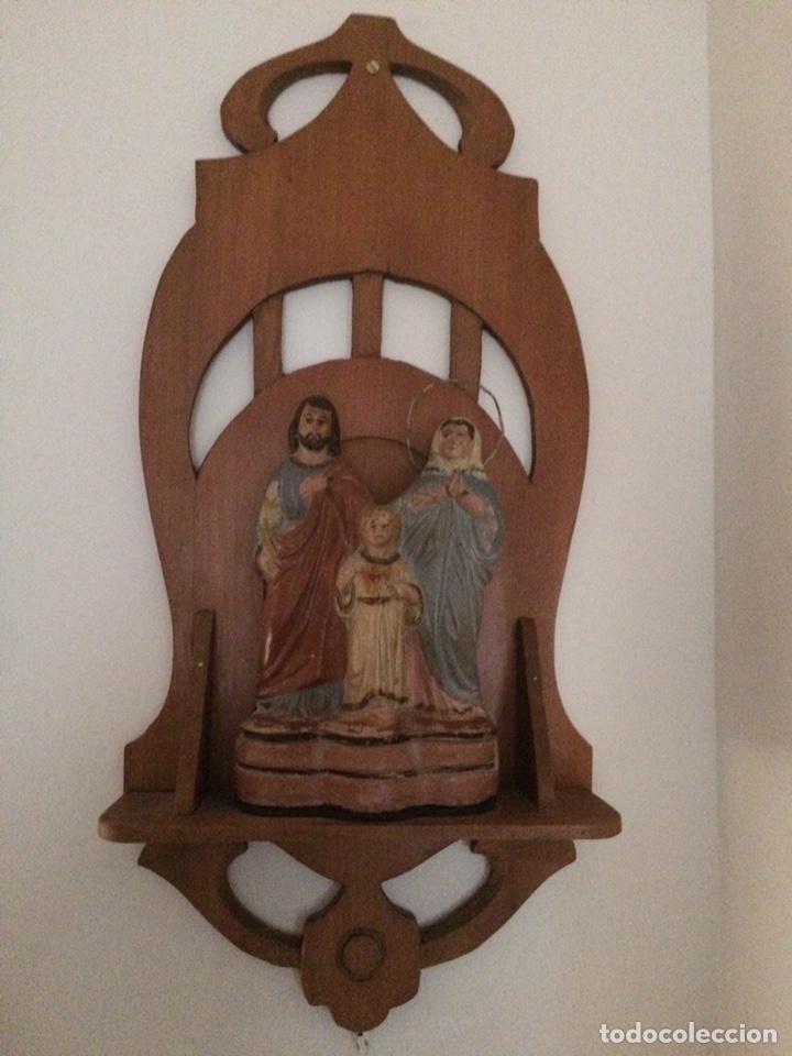 Antigüedades: Sagrada familia de barro - Foto 11 - 234906835
