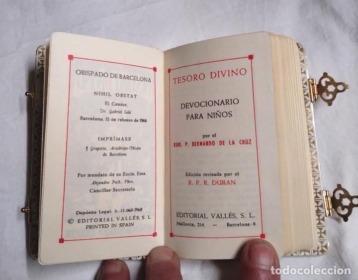 Antigüedades: Libro Primera Comunión Nuevo a Estrenar Devocionario para Niños - Foto 2 - 234906985