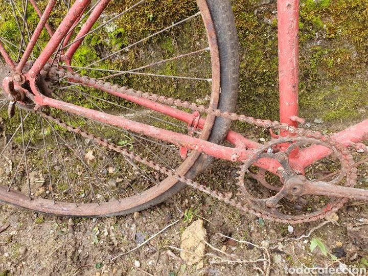Antigüedades: Bicicleta varillas - Foto 3 - 234906995