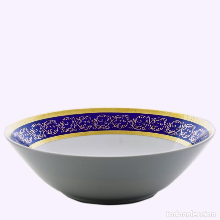 ENSALADERA SAPHYR AZUL THUN BOHEMIA- ARTÍCULO NUEVO (Antigüedades - Porcelanas y Cerámicas - Otras)