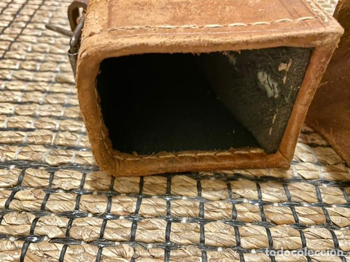 Antigüedades: ANTIGUO PORTA ESCOPETA, DEL CONOCIDO GUARNICIONERO MANUEL CARDENAS - Foto 10 - 234938860