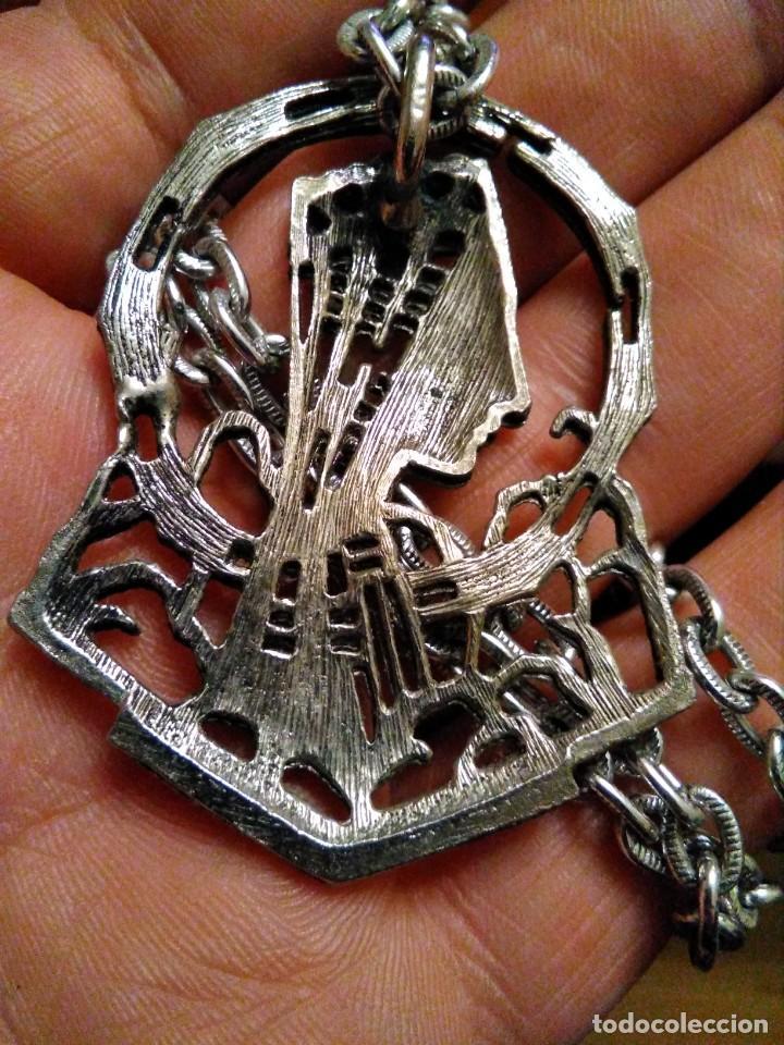 Antigüedades: Gran Medalla PATRONA CATALUNYA STA MARÍA MONTSERRAT - Foto 2 - 234939300