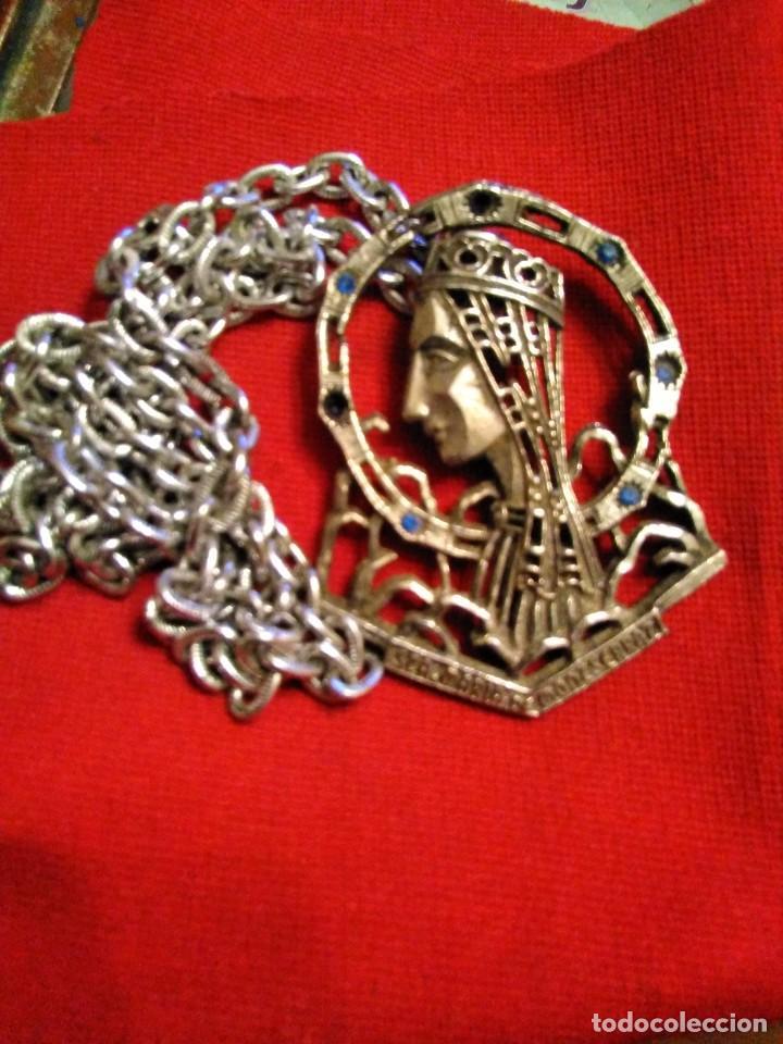 Antigüedades: Gran Medalla PATRONA CATALUNYA STA MARÍA MONTSERRAT - Foto 3 - 234939300