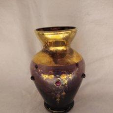 Antigüedades: JARRONCITO CRISTAL BOHEMIA. Lote 234950560
