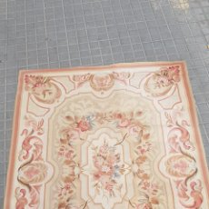 Antiguidades: ALFOMBRA FLORES 215 CMTS * 152 CMTS. Lote 235080915