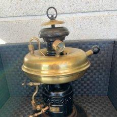 Antigüedades: LAMPARA FAROL FOCUS BADALONA NUMERO 6 TIPO PETROMAX. Lote 235098685