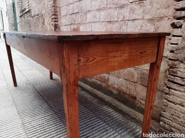 Antigüedades: Mesa rústica antigua de masia - Foto 5 - 235120655