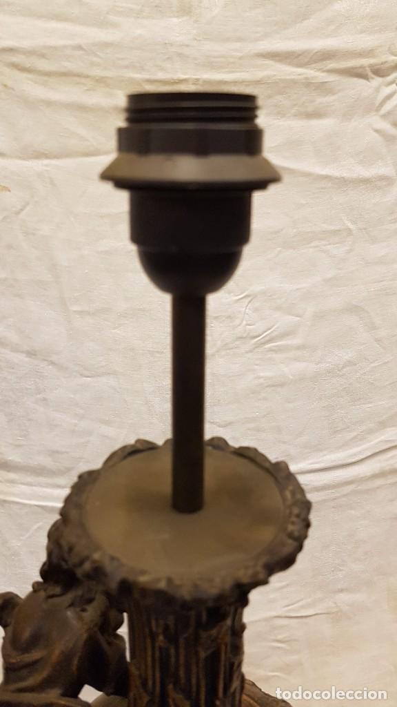 Antigüedades: PAREJA JARROS CALAMINA TRANSFORMADOS EN LAMPARAS - Foto 25 - 235123000
