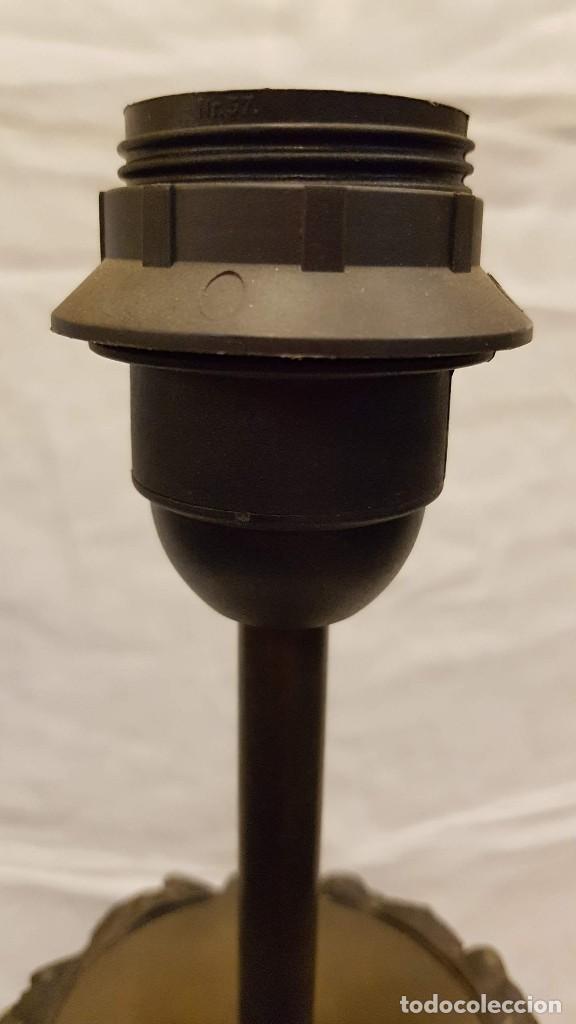 Antigüedades: PAREJA JARROS CALAMINA TRANSFORMADOS EN LAMPARAS - Foto 27 - 235123000