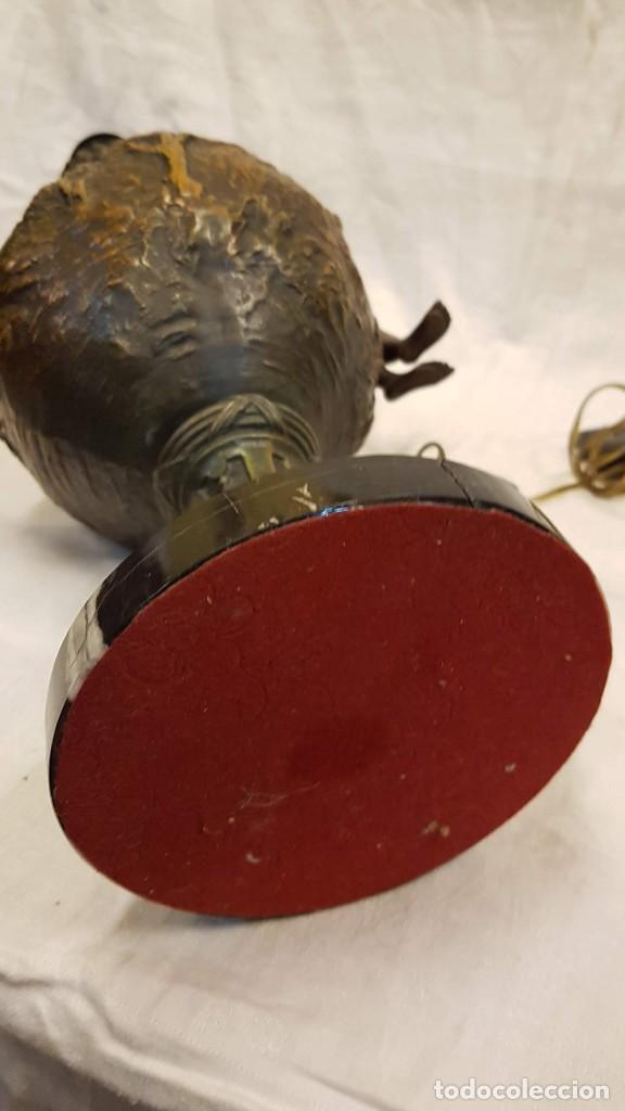 Antigüedades: PAREJA JARROS CALAMINA TRANSFORMADOS EN LAMPARAS - Foto 28 - 235123000