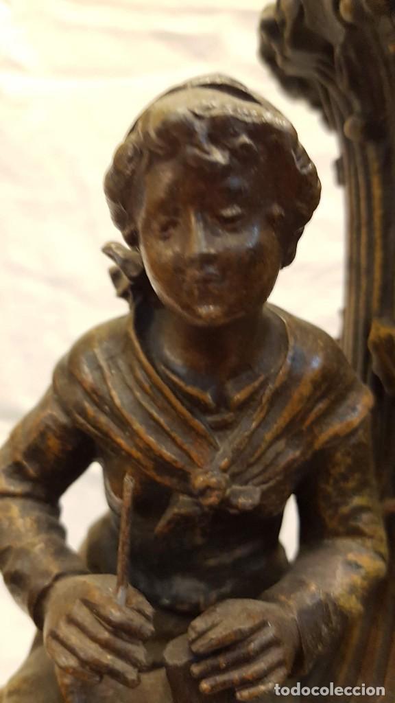 Antigüedades: PAREJA JARROS CALAMINA TRANSFORMADOS EN LAMPARAS - Foto 33 - 235123000