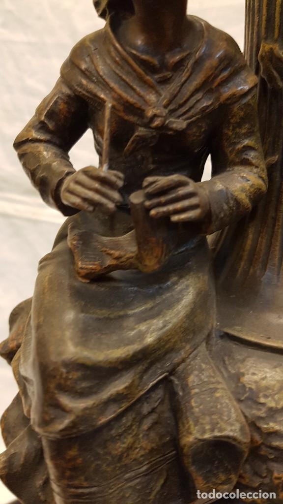 Antigüedades: PAREJA JARROS CALAMINA TRANSFORMADOS EN LAMPARAS - Foto 34 - 235123000