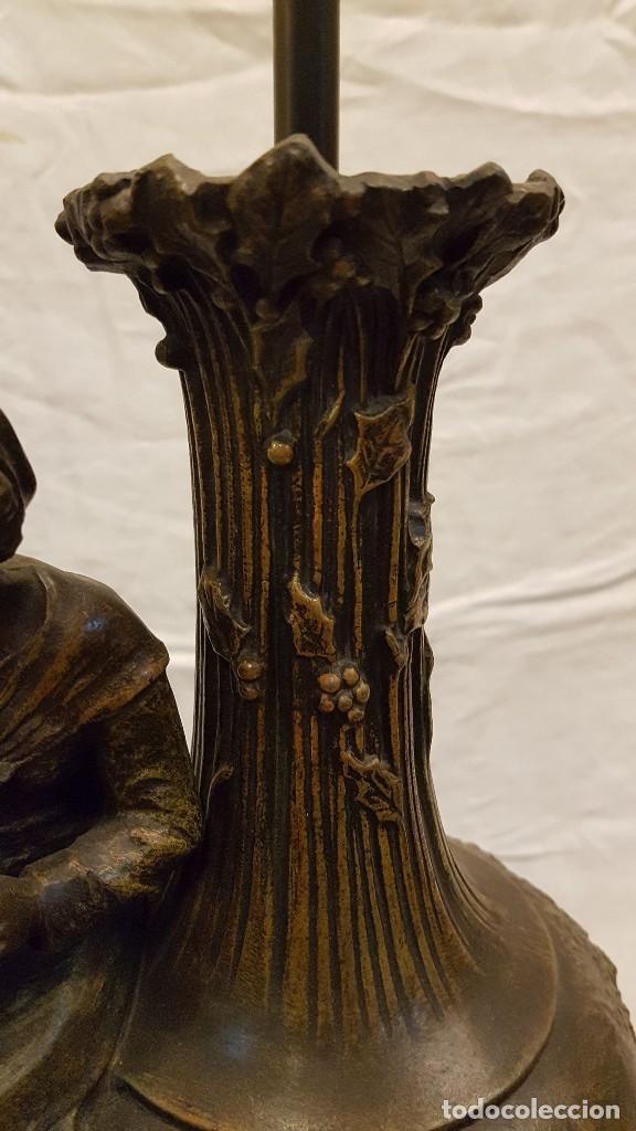 Antigüedades: PAREJA JARROS CALAMINA TRANSFORMADOS EN LAMPARAS - Foto 37 - 235123000