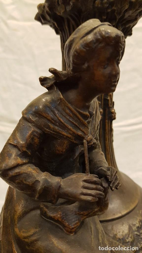 Antigüedades: PAREJA JARROS CALAMINA TRANSFORMADOS EN LAMPARAS - Foto 50 - 235123000