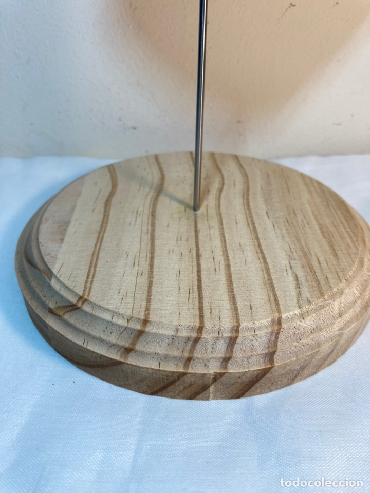 Antigüedades: Adorno de Coral Rojo con base madera (4) - Foto 3 - 235153190