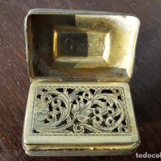 Antiquités: CAJA DE PLATA MINIATURA. Lote 235165390