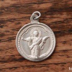 Antigüedades: ANTIGUA MEDALLA DE ALUMINIO DE SANT PANCRACIO PARROQUIA DEL PINO DE BARCELONA AÑOS 40-50. Lote 235195125