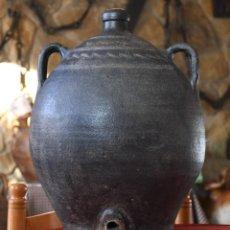 Antigüedades: BARRAL DE QUART - GIRONA - CERAMICA NEGRA. Lote 235228390